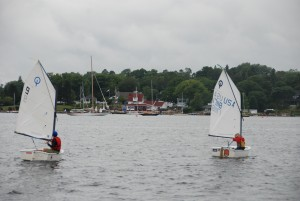 Chester Yacht Club Junior Sailing Opti