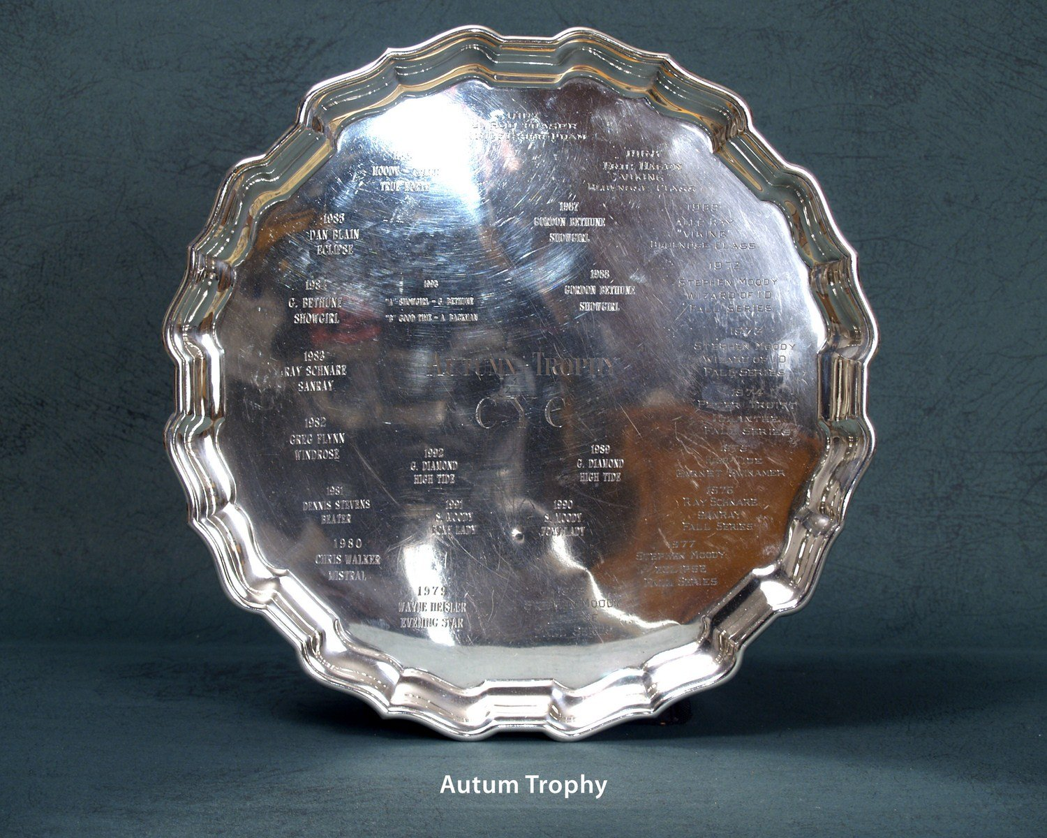 CYC September Trophies | Autum Trophy