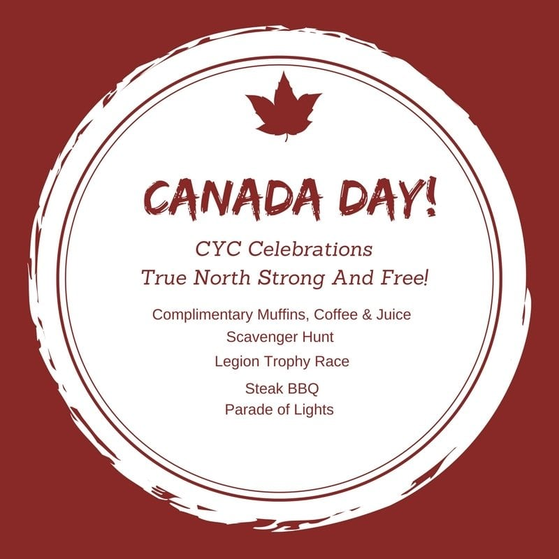 Canada Day at the CYC!